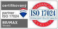 Certifikovaný maklér podľa ISO 17024