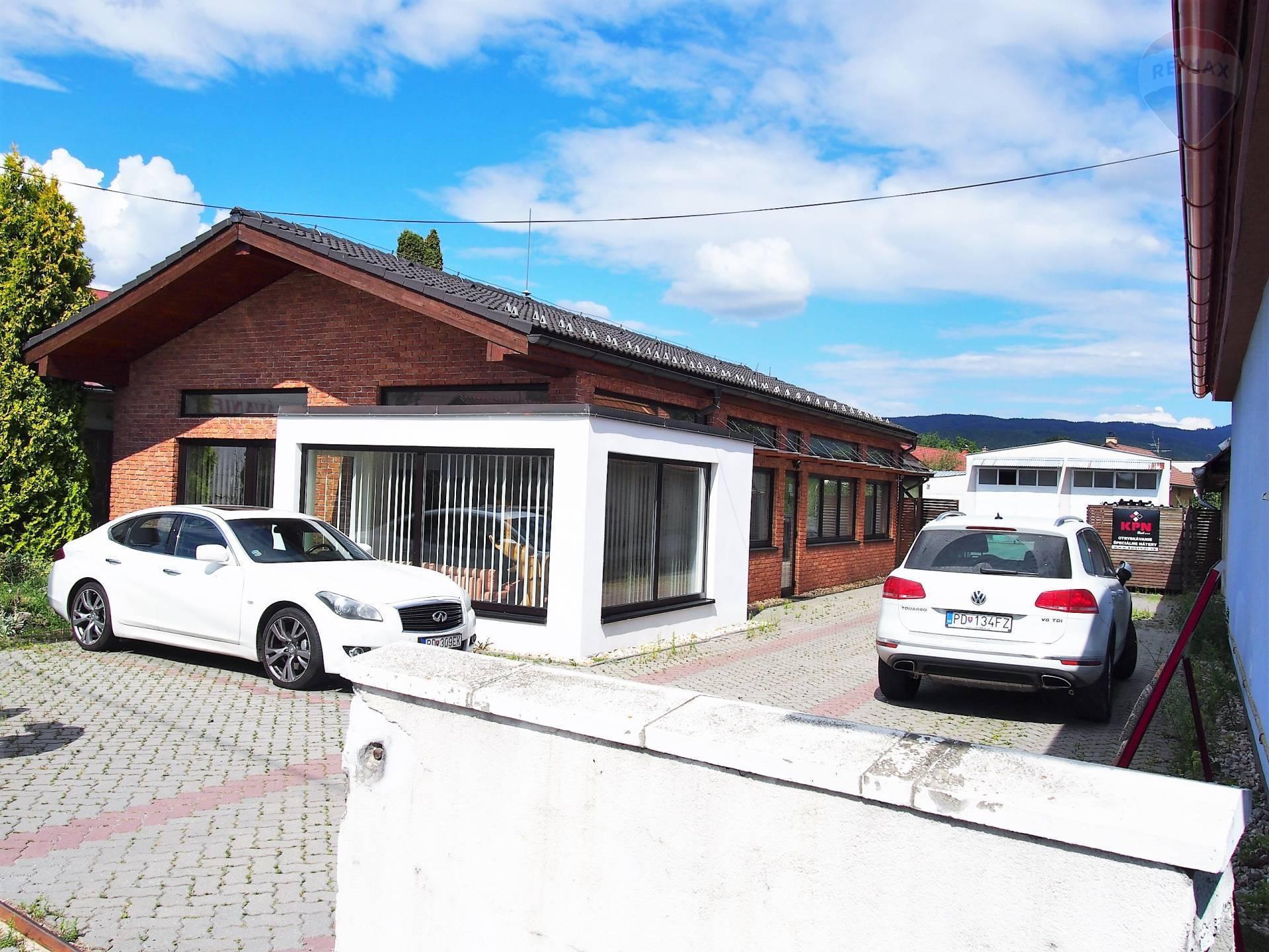 Predaj komerčného objektu 145 m2, Nedožery-Brezany, okres Prievidza