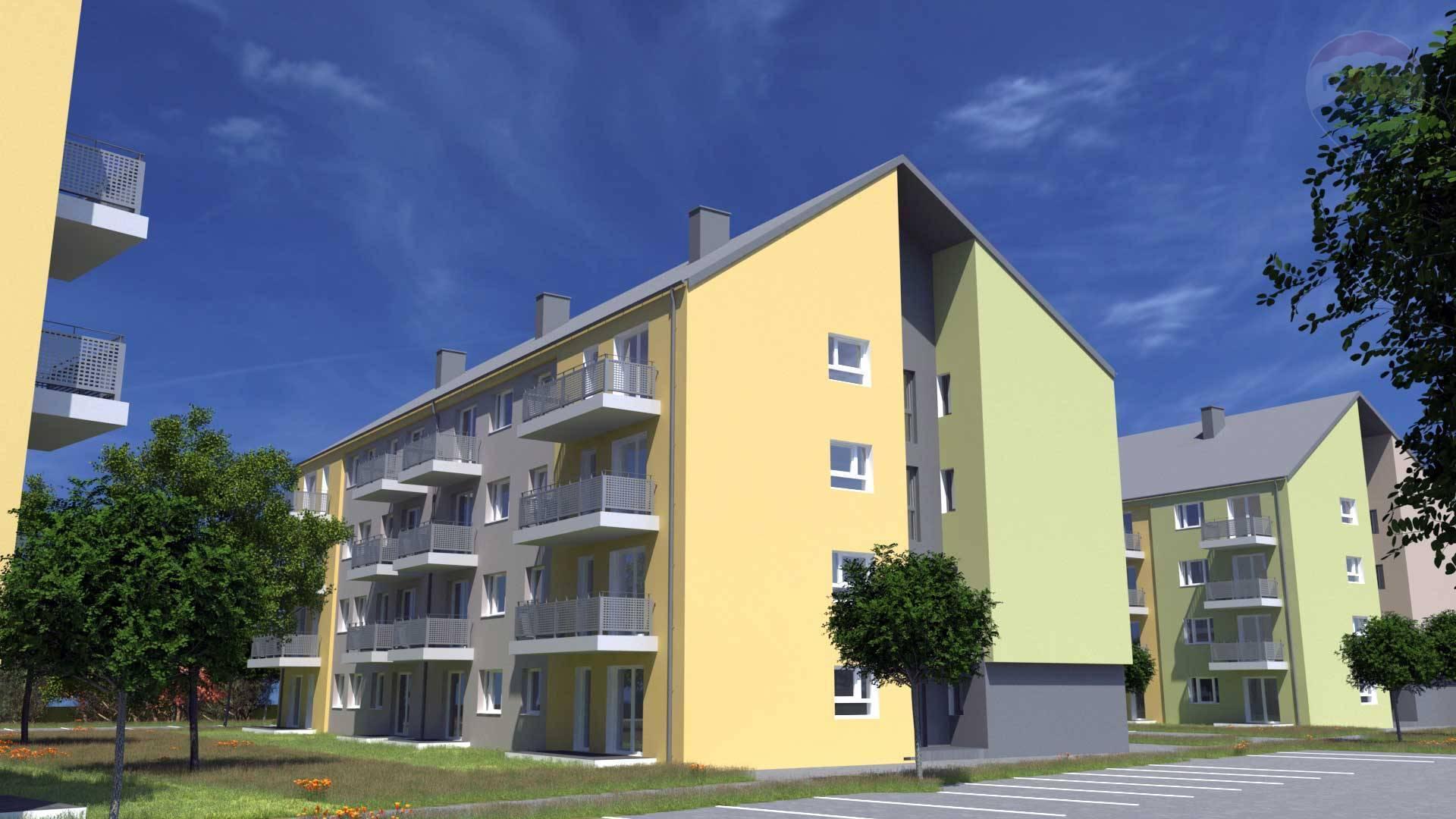 Predaj bytu (2 izbový) 43 m2, Rajka