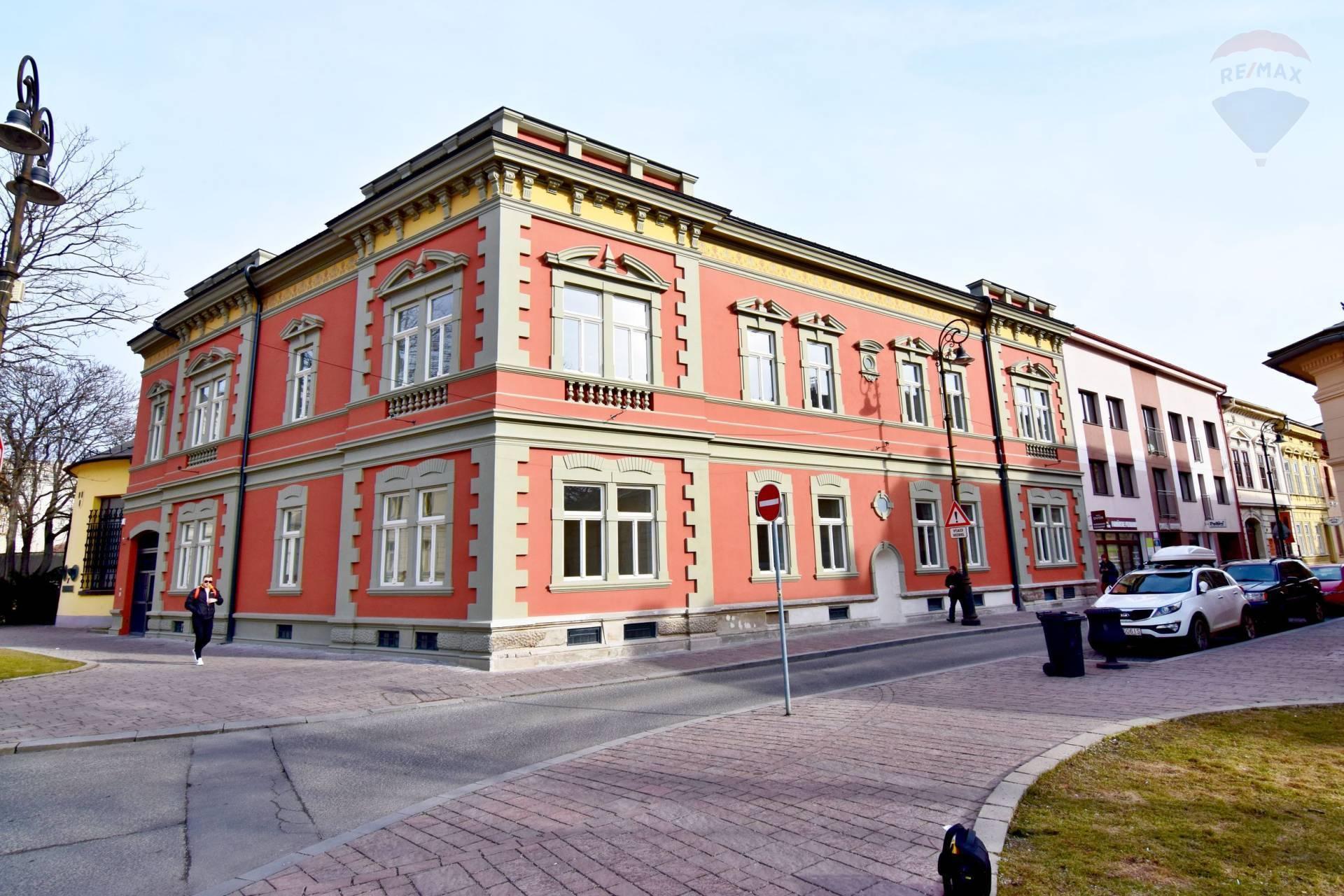 Prenájom komerčného objektu 1335 m2, Košice - Staré Mesto