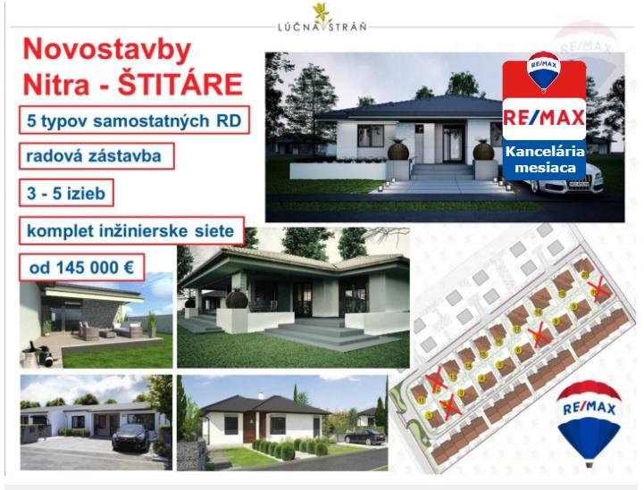 Predaj domu 480 m2 Štitáre