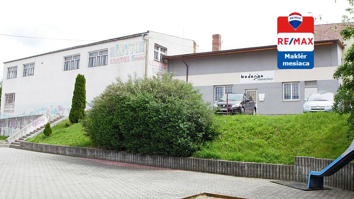 Predaj komerčného objektu 230 m2 Prievidza