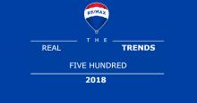 Časopis Entrepreneur vyhlásil RE/MAX za najrýchlejšie rastúcu franšízingovú značku v oblasti realít.