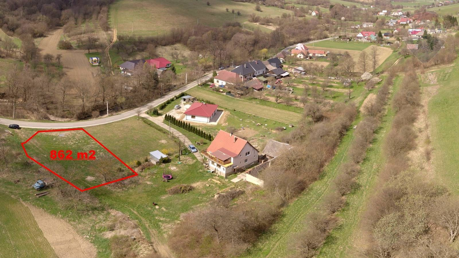 Predaj pozemku 862 m2, Nové Mesto nad Váhom